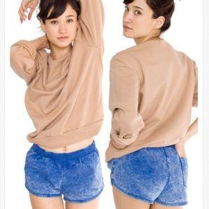 American Apparel Denim Acid Wash Shorts Small